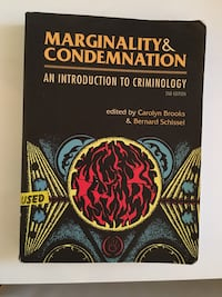 Marginality and Condemnation Book Toronto, M9R 2R9