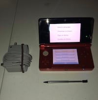 Red Nintendo 3DS