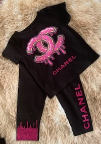Pink and Black toddler girl set Jonesboro, 30238