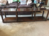 Brown wooden coffee table Bayport, 11772