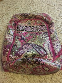 pink, green and white foliage backpack Lee, 13440