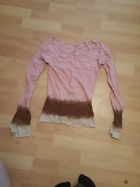 pink and brown long-sleeves shirt Manistee, 49660