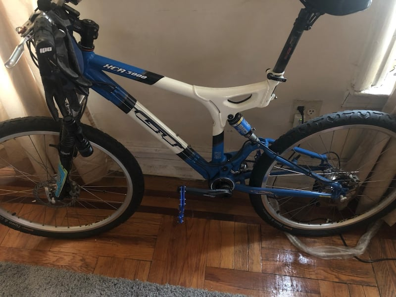 Used Up For Sale Is A Gt Xcr 3000 Full Suspension Mountain Bike
