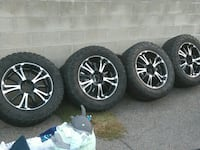 Rims and tires 1819 mi