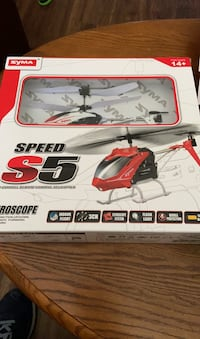Syma S5 speed remote control helicopter