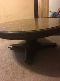 Round marble coffee table Huntsville, P1H