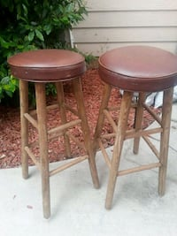 two brown wooden bar stools Port Hueneme, 93041