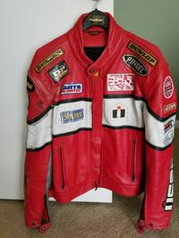 Icon Leather Motorcycle Jacket Augusta, 30907