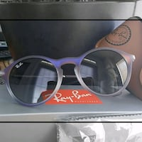 Ray-ban Violet Shot on Black Sunglasses (NWT) Woodbridge, 22191
