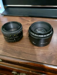 two black camera lenses Hyattsville, 20783