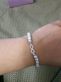 silver-colored chain bracelet Newmarket, L3X 2P2