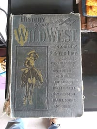 History Of Our Wild West Book Chambersburg, 17201