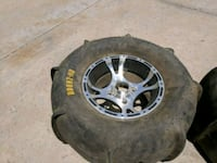 2 sand tires and rims Goodyear, 85395