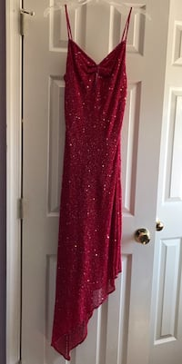 Red Sequin prom dress/evening gown Hagerstown, 21740