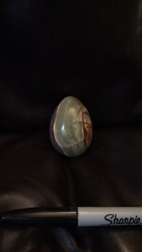 One of a kind heavy (granite??) egg from Africa. Derwood, 20855