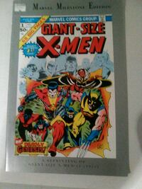 marvel milestone edition giant size X-Men 91 reprint Glen Burnie, 21060