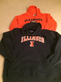 Champs and J America Hooded Sweat Shirts