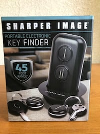 Used New Sharper Image Portable Electronic Key Finder For Sale In