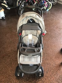 baby's gray and black Graco stroller St. Augustine, 32080