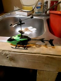 black and green RC helicopter Kingsland, 78639
