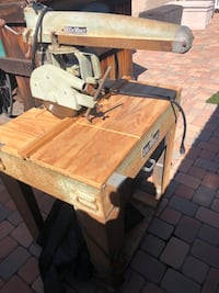 Radial arm saw.  Working condition.  Lake Forest, 92630