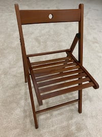 Wooden foldable chairs (set of 4) Haymarket, 20169