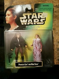 Star Wars Princess Leia and Han Solo action figures pack Oakland, 94602