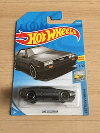 DMC Delorean Hot Wheels (Brand New)