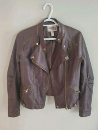 Forever 21 Brown Leather Jacket Innisfil