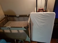 Graco pack and play. Baby Bjorn. New shoes. More