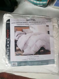 100% cotton shell King Size synthetic duvet