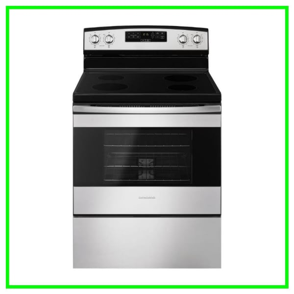 Scratch & Dent Amana 4.8 cu. ft. Electric Range AER6303MFS