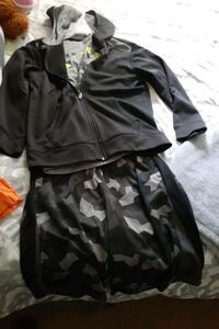 3 piece short set with Hoodie Baltimore