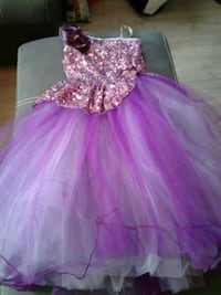 girl's purple and sparkles tutu dress Barrie, L4N 5S5