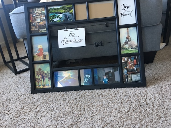 467f942b9a518 Used Multiple pictures picture frame great for people who want to showcase  their travels! for sale in Winnipeg