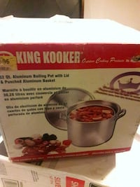 Brand New King kooker 32qt pot