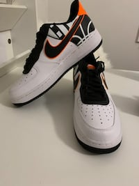 Nike Air Force 1 Low White Black Orange