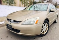 $3900 Firm'2003 Honda Accord Leather ' Heated Seats Bose System ' No check engine light Colesville