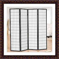 4 panel room divider brand new McLean