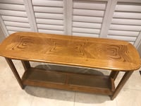Solid wood console table Brampton, L7A 3C6