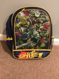 black and green TMNT backpack Naperville, 60540