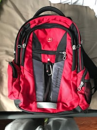 """Swiss Gear Laptop Backpack (Fits up to 15"""" Laptop) Hamilton, L8E 1B6"""