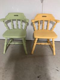 Adorable Set of 2 Antique Chairs  Zorra, N5C 3J5