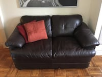 Genuine Leather Sofa - (moving this week!) Washington, 20012