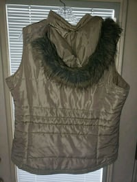 black and brown fur vest Edwardsville, 18704