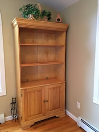 Pine cabinet w shelves Coventry, 06238