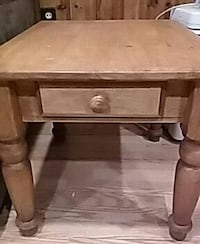 Pair of end tables