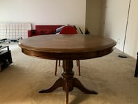 Wooden dining table with chairs Falls Church, 22043