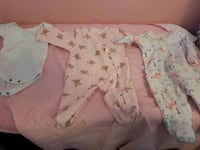 0-3 months/3-6 months girls clothes London, N5W 2A8