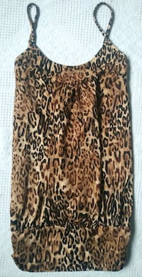 Women's Leopard Dress/Shirt $6 Red Deer, T4P 4G5